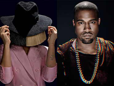 """NEW MUSIC ALERT: SIA """"REAPER"""" (PROD. BY KANYE WEST)"""