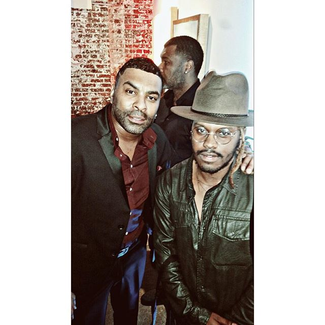 Alumnus of Forestville High School... great talking to my man _ginuwine ...