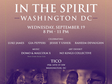 """EVENT REVIEW: Complex x Patrón Tequila PRESENTS """"In The Spirit DC"""""""