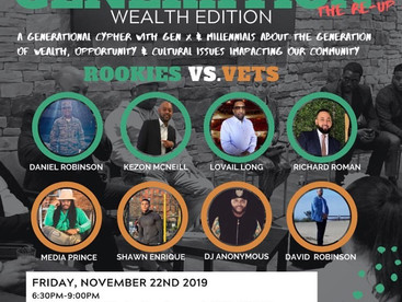 """EVENT REVIEW: """"Generation: The Re-Up Wealth Edition"""" PRESENTED BY Projecht x Just1PR x Daw"""