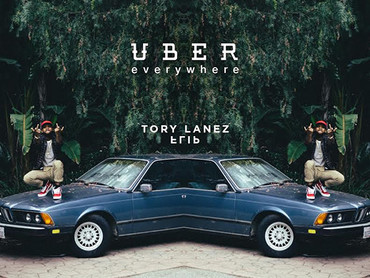 "NEW MUSIC ALERT: TORY LANEZ   ""UBER EVERYWHERE (REMIX)"""