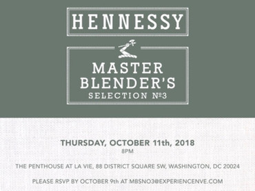 """EVENT REVIEW: Hennessy PRESENTS """"Master Blender's Selection No. 3"""""""