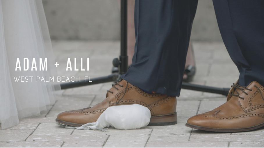 Adam + Alli | West Palm Beach Wedding | Wedding Teaser
