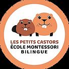 logo_LesPetitsCastors_ÉcoleMontesso