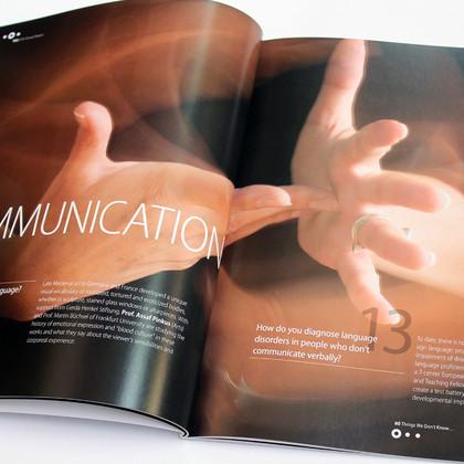 TAU Annual Report 2016 Communication