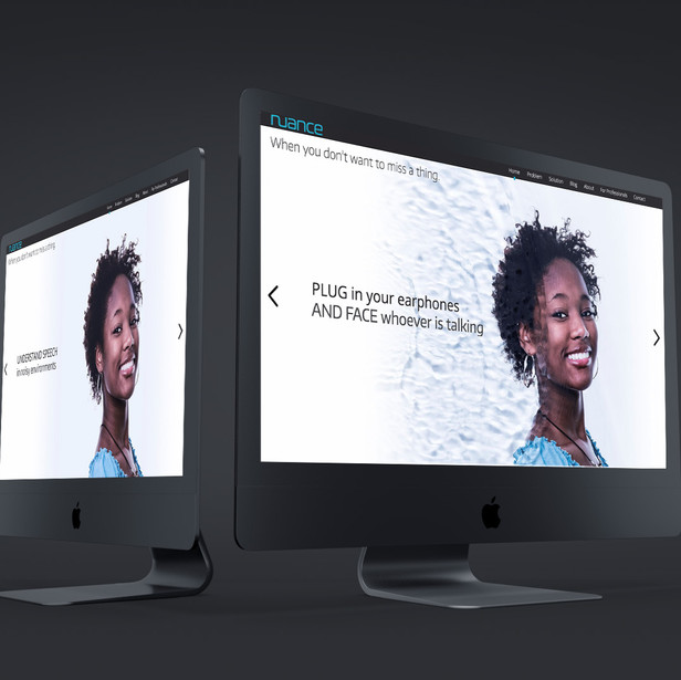 Nuance Website Design