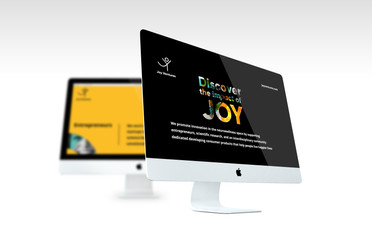 Joy Ventures Braintech Booth - Branding / Event design