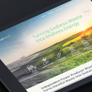 BlueSphere Website Design