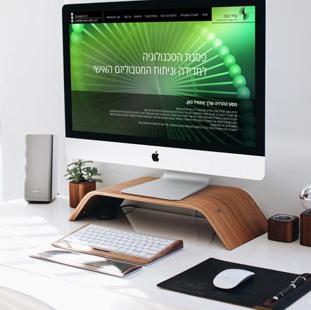 Tzachi Knaan Website Design