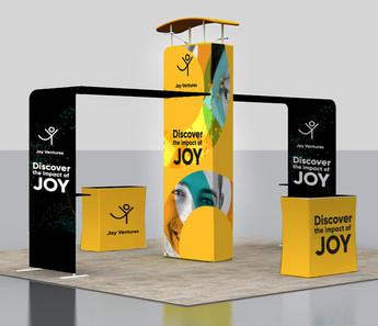 Joy Ventures Braintech Booth- Branding / Event design