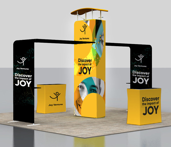 Joy Ventures Braintech Booth- Branding / Event design