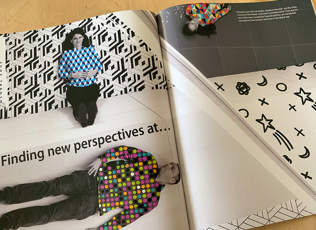 Tel Aviv University 2019 Annual Report - Art Direction / Design