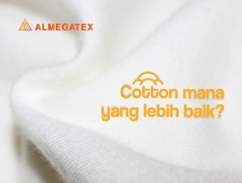 Perbedaan bahan Cotton Almegatex.