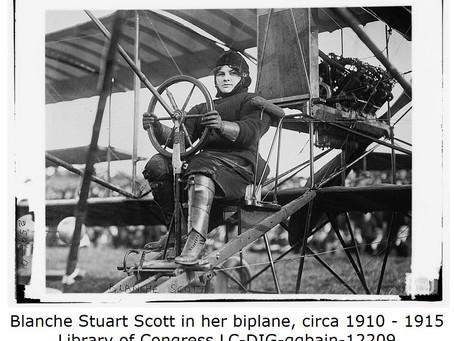 Blanche Scott Pioneer Pilot