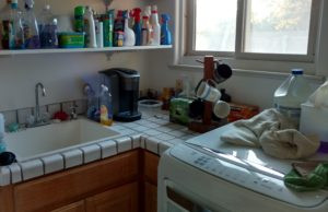 Why Is The Coffee Pot On The Washing Machine?
