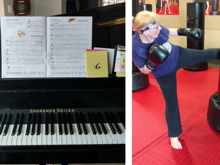 Kickboxing vs Piano
