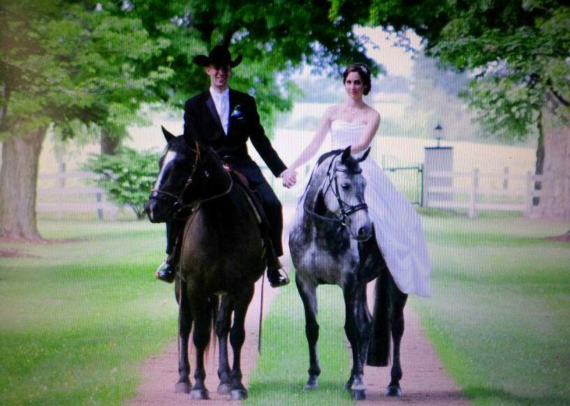 Gorgeous Equestrian Wedding