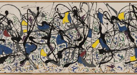 Staging Jackson Pollock
