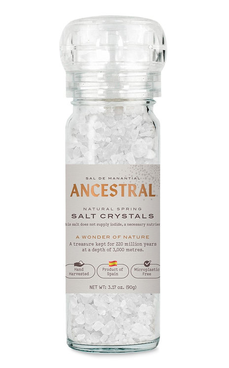Natural Spring Salt Crystals