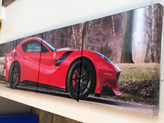 Printed Vinyl on Composite Panel System
