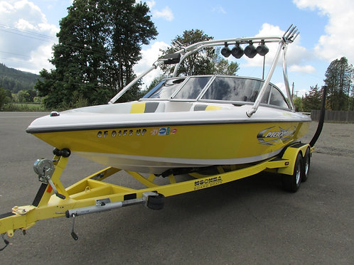 2005 Moomba Outback Low Hours