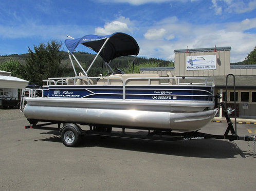 2017 Sun Tracker Fishin Barge 20DLX