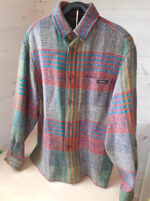 Studio Donegal Men's Handwoven Wool Shirt Jacket