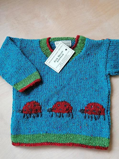 Julie Dillon Handmade Children Sweater