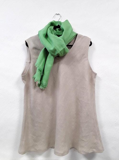 Linen sleeveless top
