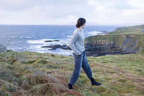 Fisherman out of Ireland Roll Neck Sweater