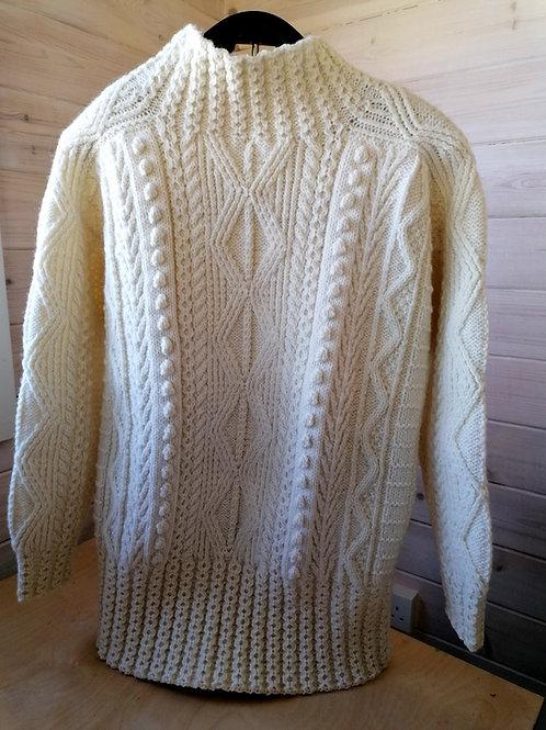 Cleo Handknit Blaskets Sweater