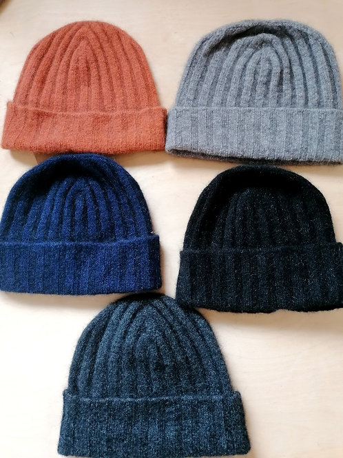 Noble Wilde Ribbed Beanies