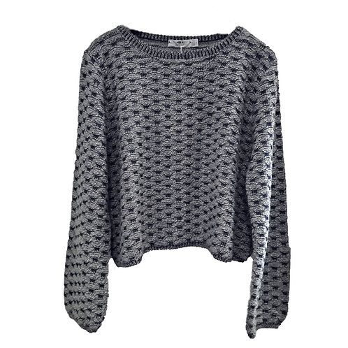 Inis Meáin Cropped Seafoam Sweater