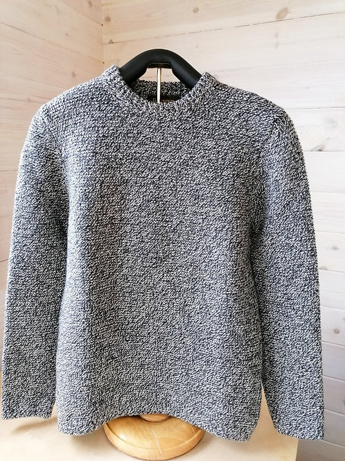 Fisherman Out of Ireland Links Links Stitch Crew Neck Sweater