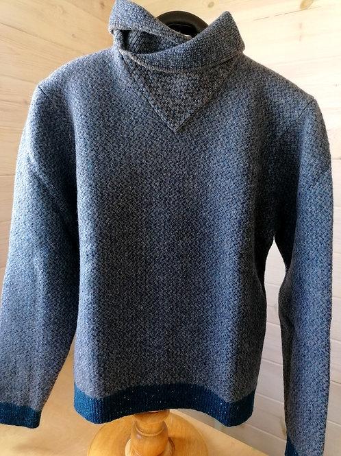 Inis Meain Mens Faroese Shawl collar