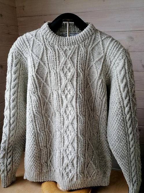 Aran hand knit sweaters -Oileán pullover