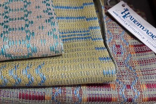 Ballytoughey Loom Handwoven Silk Scarves
