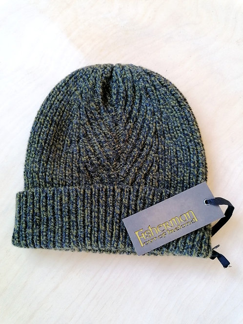 Fisherman Out Of Ireland Ribbed Herringbone Knitted Hat
