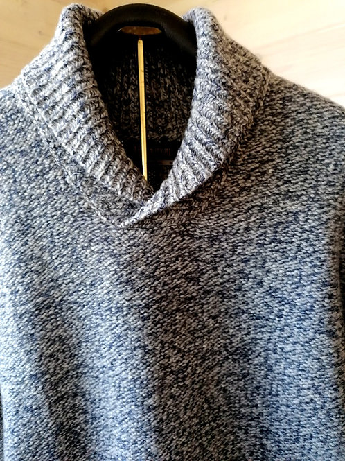 Fisherman out of Ireland Mens shawl collar Sweater