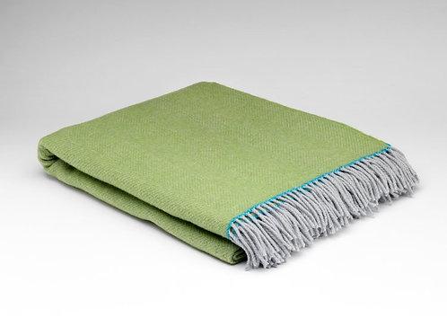 McNutt of Donegal Pop up Colours Herringbone Blanket