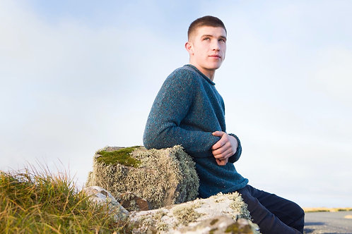 Fisherman Out Of Ireland Mens Roll Neck Sweater