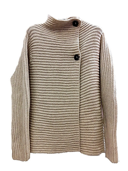 Fisherman Out Of Ireland Ribbed Cardigan