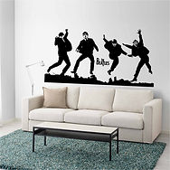stickers-the-beatles-jeunes-silhouette-a