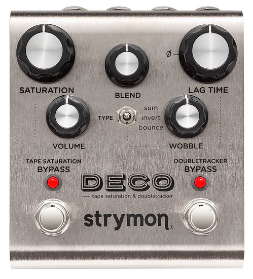 STRYMON DECO TAPE SATURATION & DOUBLE TRACKER