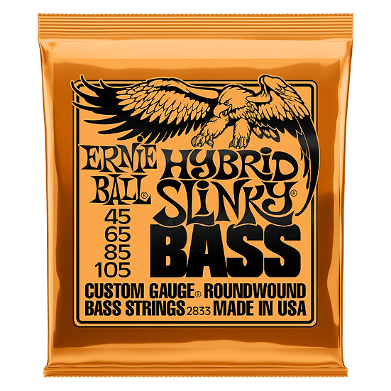 ERNIE BALL  HYBRID SLINKY NICKEL WOUND ELECTRIC BASS STRINGS