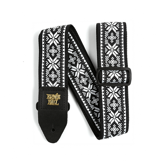 ERNIE BALL MIDNIGHT BLIZZARD JACQUARD STRAP