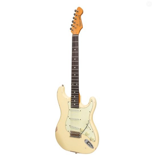 TOKAI 'LEGACY SERIES' ST-STYLE 'RELIC' ELECTRIC GUITAR (CREAM)