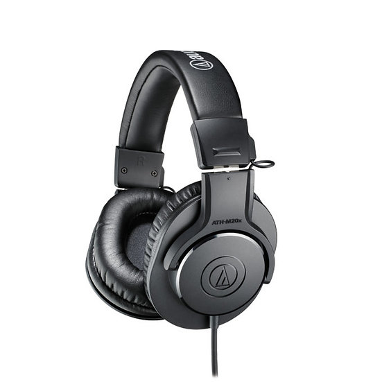 AUDIO TECHNICA ATH-M20X ENTRY LEVEL MONITORING HEADPHONES