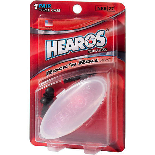 HEAROS ROCK N ROLL EAR PLUGS