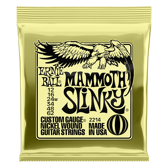 ERNIE BALL MAMMOTH SLINKY NICKEL WOUND ELECTRIC GUITAR STRINGS